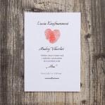 Fingerprints (vintage svadobné oznámenie A6)