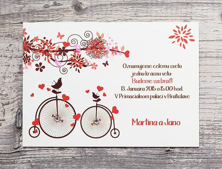 Retro bicyklík