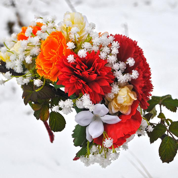 Spring Wedding (kvetinová čelenka)