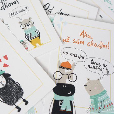 Míľnikové špeci kartičky - dievčatko