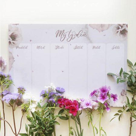 Týždenný plánovač Rose Blush