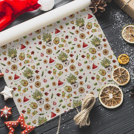 Vianočný baliaci papier  - Christmas Time