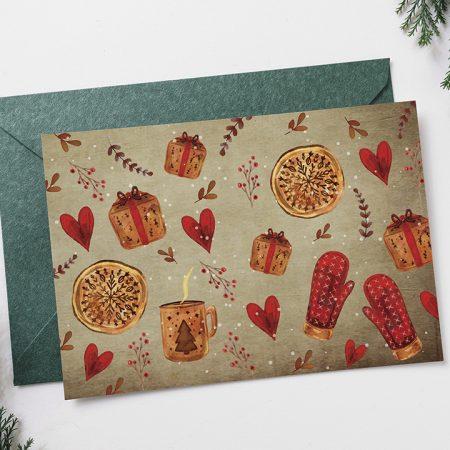 Pohľadnica Čas Vianoc