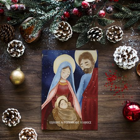 Pohľadnica Božia rodina