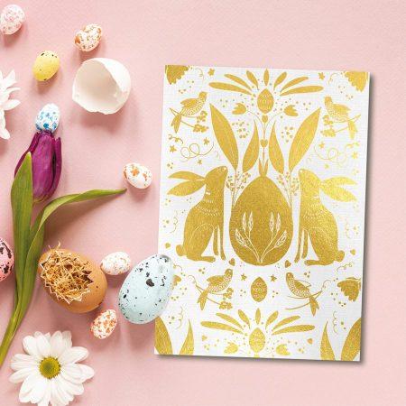 Veľkonočné zajačiky - So zlatou razbou